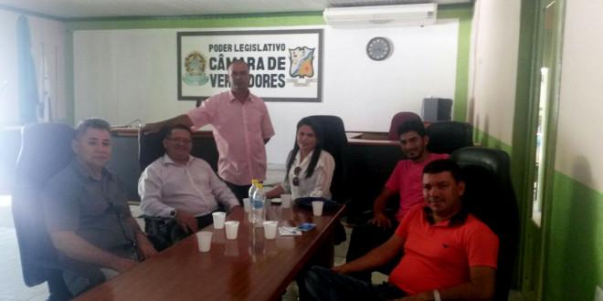 Presidente da Câmara Marcelinda Nascimento de Sousa busca projetos novos